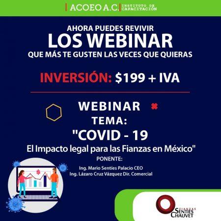COVID – 19 El Impacto legal para las Fianzas en México