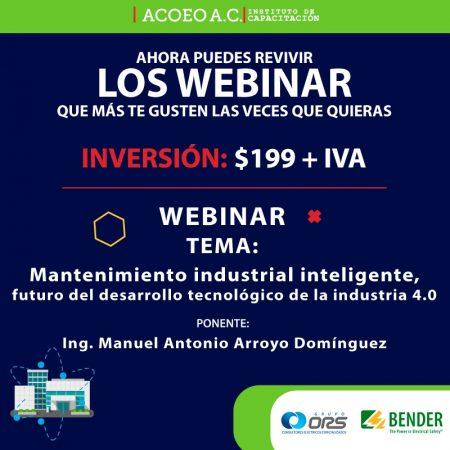 Mantenimiento industrial inteligente, futuro del desarrollo tecnológico de la industria 40