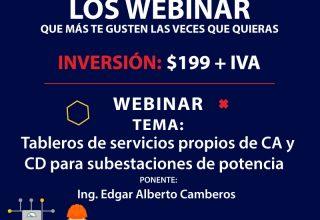 Tableros de servicios propios de CA y CD para subestaciones de potencia marca Electrical Support IDS